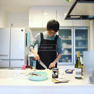 男の料理の写真・画像素材[482201]
