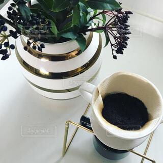ハンドドリップコーヒーの写真・画像素材[856689]