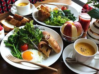 野菜たっぷり朝ごはん - No.974612