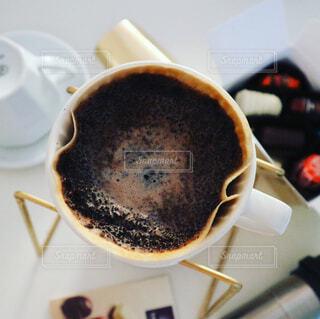 ハンドドリップコーヒーの写真・画像素材[1001519]