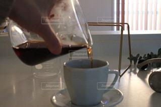 ハンドドリップコーヒーの写真・画像素材[1002238]