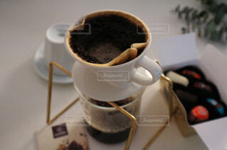 一杯のコーヒーの写真・画像素材[1002240]