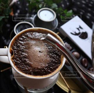ハンドドリップコーヒーの写真・画像素材[1034320]