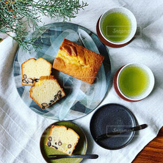 お正月のパウンドケーキの写真・画像素材[1755502]