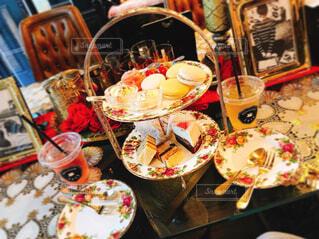 おしゃれなカフェの写真・画像素材[1713233]
