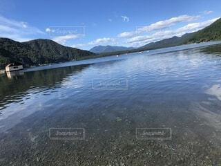 湖の写真・画像素材[1690902]