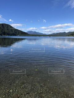湖の写真・画像素材[1690904]