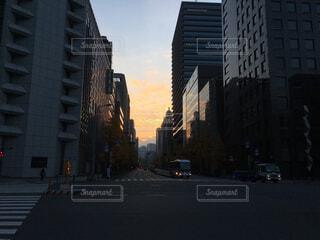 都市の高層ビルの写真・画像素材[1692915]
