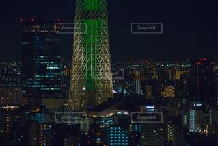 浅草ビューホテルからの夜景の写真・画像素材[1694854]