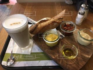 オーストリアの朝食の写真・画像素材[1706566]