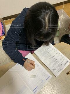 只今、試験勉強中の写真・画像素材[1788255]