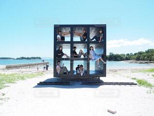 佐久島のお昼寝ハウスの写真・画像素材[1696538]