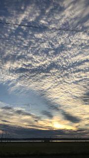 空の雲の写真・画像素材[1696369]