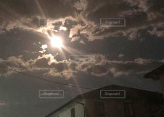 月夜の写真・画像素材[2225966]