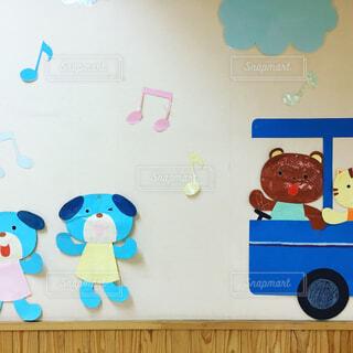 幼稚園の壁面飾りの写真・画像素材[1698730]