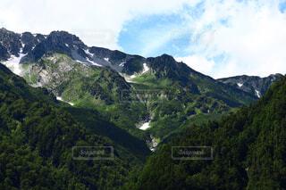 立山連峰の写真・画像素材[1698876]