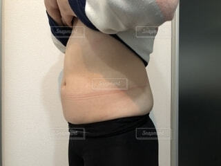 正月太りの写真・画像素材[1699059]
