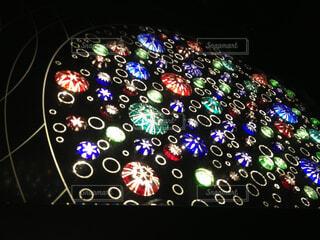 東京スカイツリーのエレベーター内装飾の写真・画像素材[1699556]