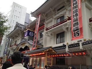 歌舞伎座の写真・画像素材[1699557]