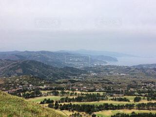 山からの景色の写真・画像素材[1699844]