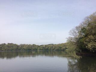 湖の写真・画像素材[1711358]