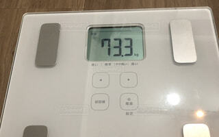 体重73.3キロの写真・画像素材[1716824]