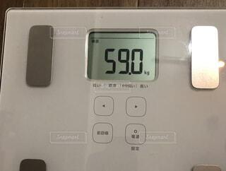 体重59キロの写真・画像素材[1716828]