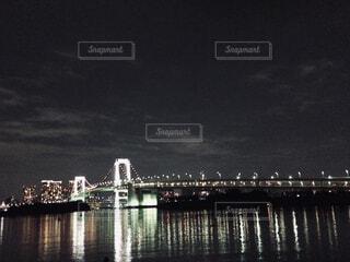 都会の夜景の写真・画像素材[1720701]
