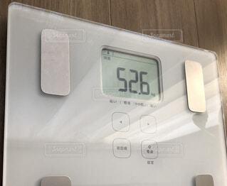 体重52.6キロの写真・画像素材[1724558]