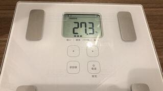 体脂肪27.3の写真・画像素材[1773497]