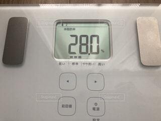 体脂肪率28%の写真・画像素材[1796138]