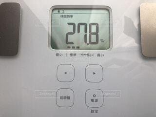 体脂肪率27.8%の写真・画像素材[1796143]
