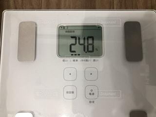 体脂肪率24.8の写真・画像素材[1816340]