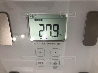 体脂肪率27.9の写真・画像素材[1817458]