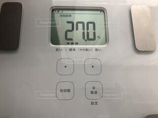 体脂肪率27%の写真・画像素材[1817472]
