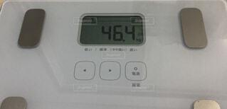 体重46.4キロの写真・画像素材[3171428]