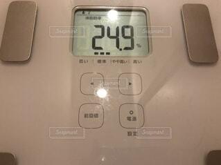 体脂肪率24.9%の写真・画像素材[3390497]