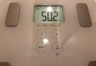 体重50.2キロの写真・画像素材[3390498]