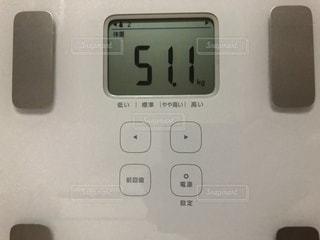 体重51.1キロの写真・画像素材[3455738]