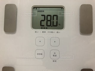 体脂肪率28.0の写真・画像素材[3455742]