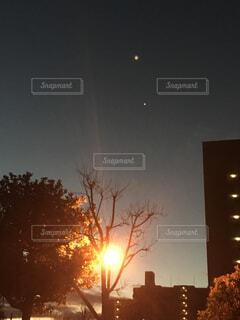 早朝の空の写真・画像素材[1699620]
