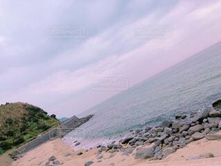 海岸線 海と岩の写真・画像素材[1700313]