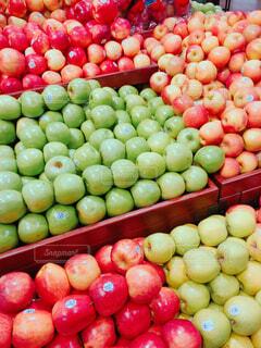 スーパーのりんごの写真・画像素材[1704351]
