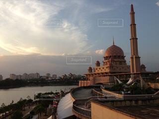 マレーシアピンクモスクの写真・画像素材[1701570]