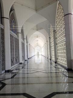 マレーシアブルーモスクの写真・画像素材[1701572]