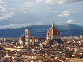 イタリアフィレンチェ大聖堂の写真・画像素材[1701575]
