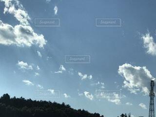 空の雲の群の写真・画像素材[4053002]