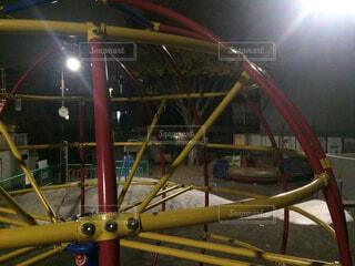 夜の公園の写真・画像素材[1702018]