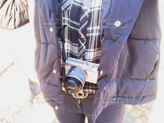 カメラ女子の休日の写真・画像素材[1717629]