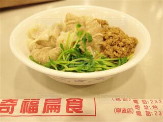 台湾の汁なし担々麺の写真・画像素材[1706026]